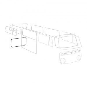 Engine lid seal - Exterior - Body part rubbers - Body part rubbers  BusBus & Pick-up (XView 1-10)  - Generic