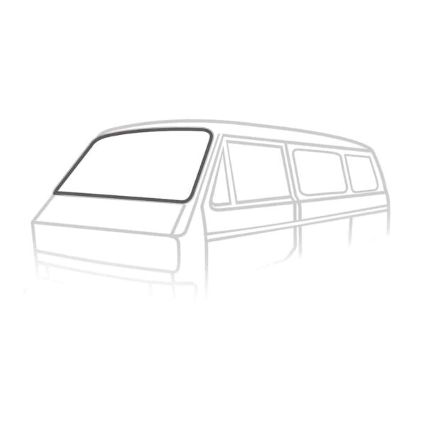 Windshield seal 'Deluxe' (plastic trim) - Exterior - Body part rubbers - Body part rubbers  Type 25 (XView 1-30)  - Generic