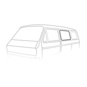 Side centre window seal 'Deluxe' (plastic trim) - Exterior - Body part rubbers - Body part rubbers  Type 25 (XView 1-30)  - Generic