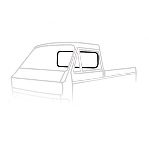 Rear window seal PU - Exterior - Body part rubbers - Body part rubbers  Type 25 (XView 1-30)  - Generic