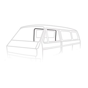 Sliding door seal, right - Exterior - Body part rubbers - Body part rubbers  Type 25 (XView 1-30)  - Generic