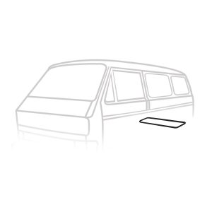 Engine lid seal - Exterior - Body part rubbers - Body part rubbers  Type 25 (XView 1-30)  - Generic