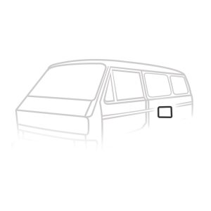 Inspection lid seal - Exterior - Body part rubbers - Body part rubbers  Type 25 (XView 1-30)  - Generic