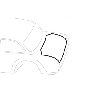 Rear deck seal - Exterior - Body part rubbers - Seals Type 3  (XView 1-23)  - Generic