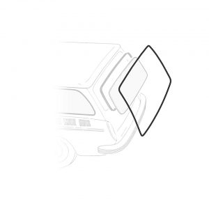 Rear deck lid seal, Squareback (variant) - Exterior - Body part rubbers - Seals Type 3  (XView 1-23)  - Generic