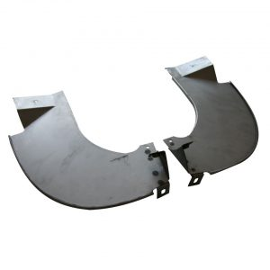 Bumper splashpansas pair - Exterior - Bumpers and accessories - Bumperbolts and protection  - Auto Craft
