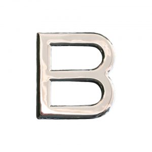 B Chrome (Nickel) - Exterior - Plates and accessories - Vintage landcode  - BBT Production