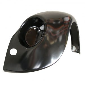 Front fender, left, for early headlightsAlso possible for cars constructed after 1967 for an older look. - Exterior - Wings and runningboards - Steel fenders for Beetles  - Generic