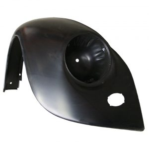 Front fender, rightWith indicator hole, without bumperbracket hole and with hole for horn grill - Exterior - Wings and runningboards - Steel fenders for Beetles  - Generic
