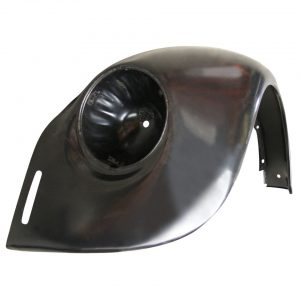 Front fender, leftWith indicator hole and with bumperbracket hole - Exterior - Wings and runningboards - Steel fenders for Beetles  - Generic