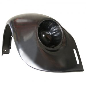 Front fender, rightWith indicator hole and with bumperbracket hole - Exterior - Wings and runningboards - Steel fenders for Beetles  - Generic