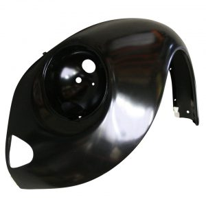 Front fender, leftWith indicator hole and with triangular bumperbracket hole - Exterior - Wings and runningboards - Steel fenders for Beetles  - Generic