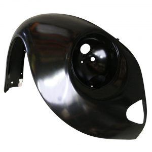 Front fender, rightWith indicator hole and with triangular bumperbracket hole - Exterior - Wings and runningboards - Steel fenders for Beetles  - Generic
