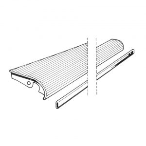 Running-board leftwith 33 mm moulding - Exterior - Wings and runningboards - Beetle runningboards  - Generic