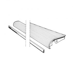 Running-board right33 mm moulding - Exterior - Wings and runningboards - Beetle runningboards  - Generic