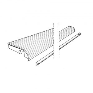 Running-board leftwith 18 mm moulding - Exterior - Wings and runningboards - Beetle runningboards  - Generic