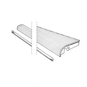 Running-board rightwith 18 mm moulding - Exterior - Wings and runningboards - Beetle runningboards  - Generic
