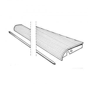 Running-board rightwith 9 mm moulding - Exterior - Wings and runningboards - Beetle runningboards  - Generic