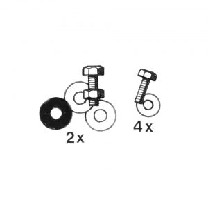 Mounting kit running boards - Exterior - Wings and runningboards - Beetle runningboards  - Generic