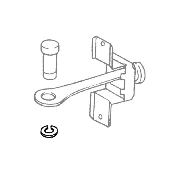 Clip for check rod pinOriginal - Exterior - Body parts - Doors and hardware  - BBT Production