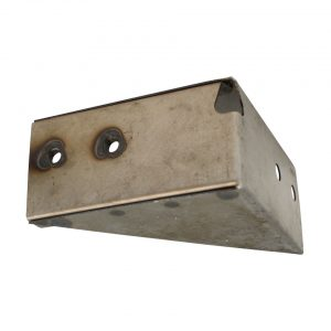 Bracket for rear valence, right - Exterior - Body parts - Bodywork Bus, -67 Part 2 (XView 1-06)  - Silver Weld Through
