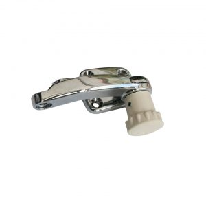 Pop-out window latch, ivory, left - Exterior - Windows and accessories - Pop-out and accessories  - Generic