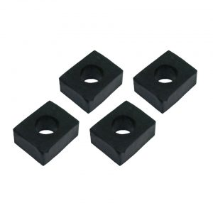 Shock pad between body and chassis, 17 mm4 pieces - Exterior - Body part rubbers - Rubbers between chassis and body  Karmann Ghia  - Generic