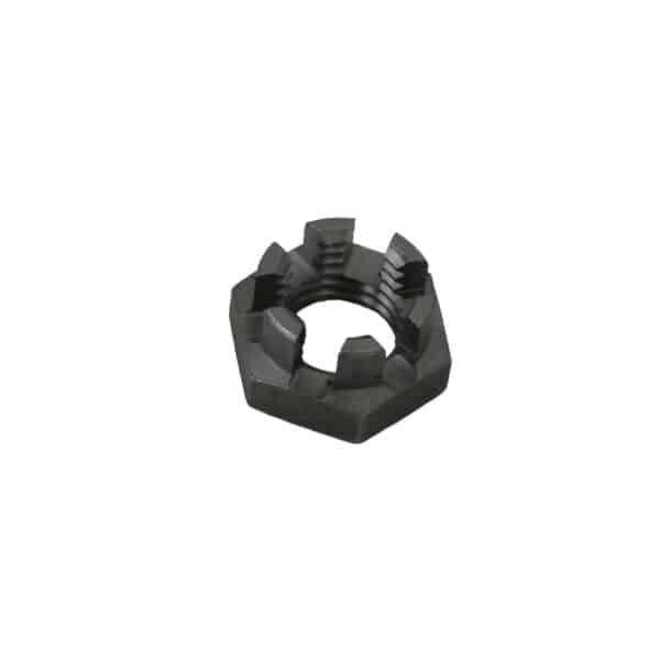 Castle nut M12 x 1.5 - Under-carriage - Steering - Steering- rods and ends  Beetle,  Bus, KG, Type 3  - Generic