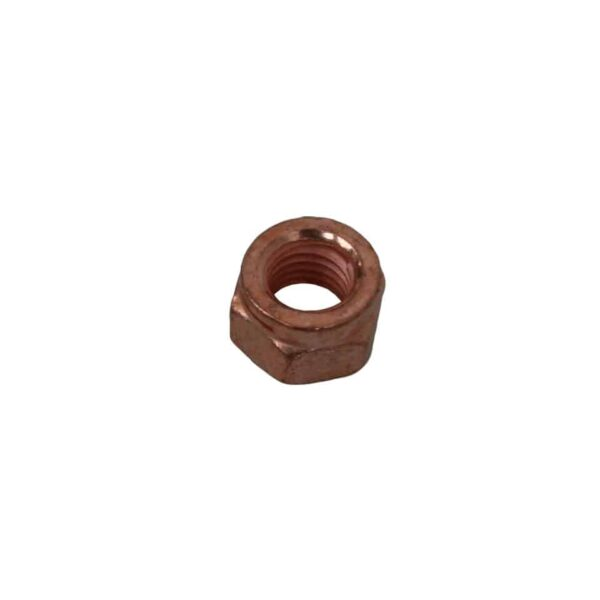 Exhaust nut (copper) M8 for 12mm wrench - Engine - Exhaust and accessories - Gasket and accessories for exhaust  - Generic