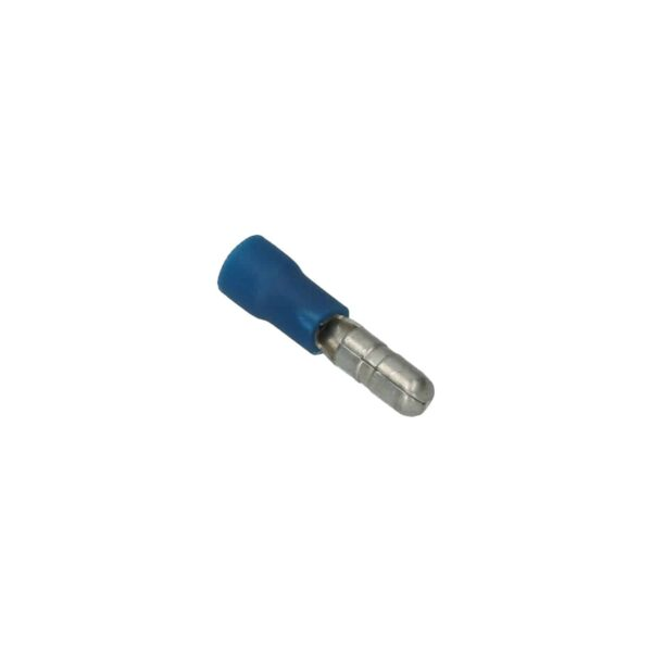 Cable connector blue, round 4mm - Fixing material - Cable connectors - blue  - Generic