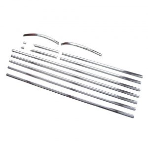 Chrome moulding kit - Exterior - Accessories - Chrome moulding kits and mounting pieces  - Generic