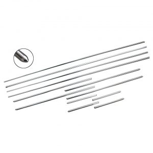 Chrome moldingkit (12pcs) - Karmann Ghia - Exterior - Accessories - Chrome moulding kits and mounting pieces  - Generic
