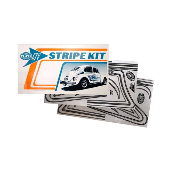 Java C-stripe kit, silver, 40 pieces - Exterior - Accessories - Emblems and accessories  - Generic