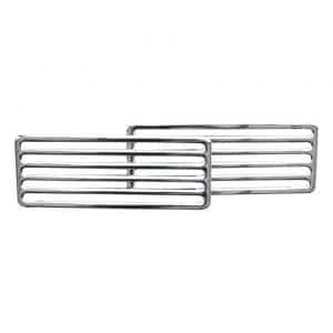 2-parts grill, rear engine lid - Exterior - Accessories - Chrome grills  - Generic
