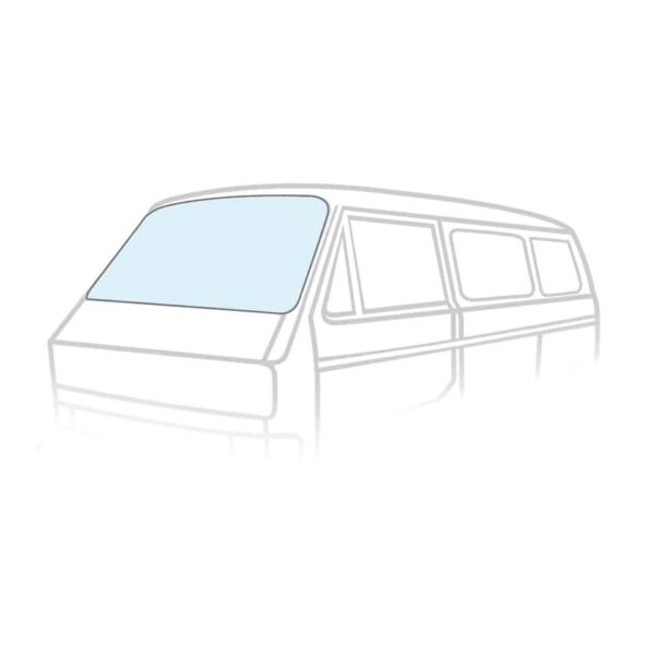 Windshield - Exterior - Windows and accessories - Windows,  Type 25  - Generic