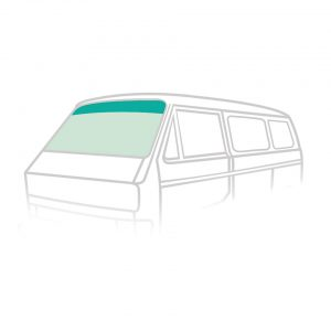 Windshield - green-green - Exterior - Windows and accessories - Windows,  Type 25  - Generic