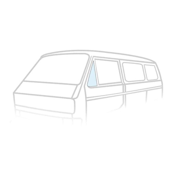 Ventwing window closed left - Exterior - Windows and accessories - Windows,  Type 25  - Generic