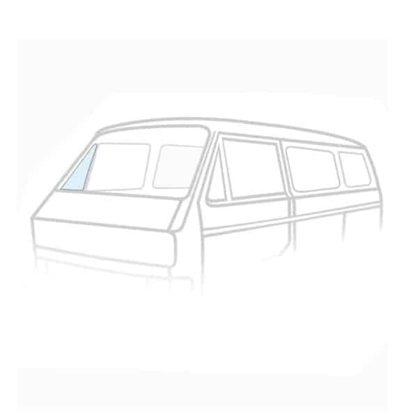 Ventwing window closed right - Exterior - Windows and accessories - Windows,  Type 25  - Generic