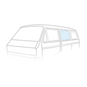 Side middle window T25 05/79-07/92slidingdoor window T3 -08/84 - Exterior - Windows and accessories - Windows,  Type 25  - Generic