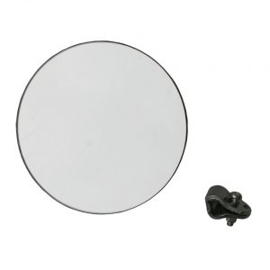 Round mirror mounting on door hinge axle - Exterior - Mirrors and latches - Original mirrors and accessories  - Generic