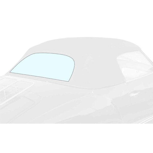 Rear window - KG Convertible 08/67- heated 12V - Exterior - Windows and accessories - Windows - for aircooled VW (XView 1-09)  - Generic