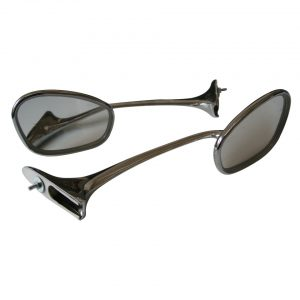 Swan neck, mirrorsas pair - Exterior - Mirrors and latches - Rear view mirrors  - Generic