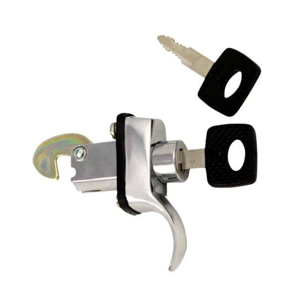 Engine lid lock W/keys - chromee - Exterior - Mirrors and latches - Latches and locks  - Generic