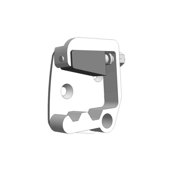 Lock catch door - Beetle 08/55-07/66 right - Exterior - Mirrors and latches - Latches and locks  - Generic