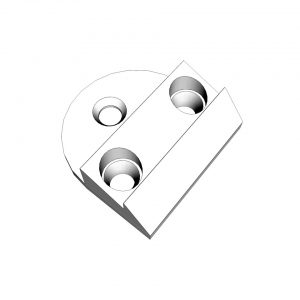 Cabine door lock catch - Exterior - Mirrors and latches - Latches and locks  - Generic