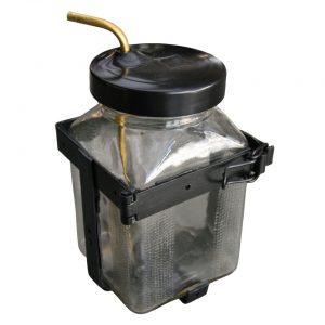Washer bottle in glass - Exterior - Windscreen wipers - Windshield wipers hardware  - BBT Production