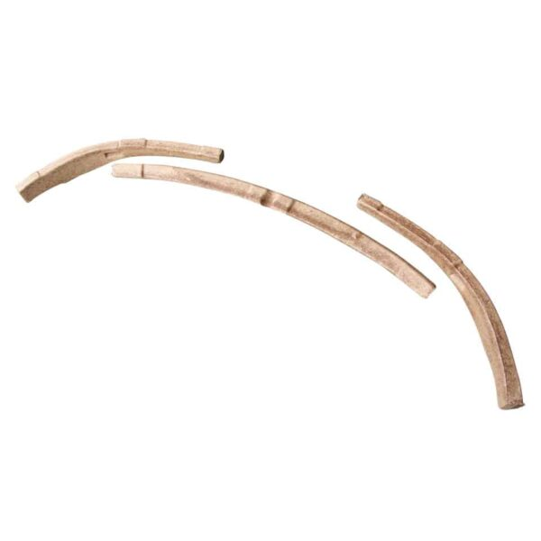 Tack strip rear, wood - Exterior - Convertible tops - Wood for convertible top frames (XView 1-22)  - Generic