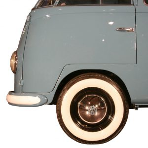 White wall ring (wide) 15 inch, 4 pieces - Exterior - Wheel rims and accessories - Tyre walls  - Generic