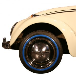 Blue wall ring (small) 15 inch, 4 pieces - Exterior - Wheel rims and accessories - Tyre walls  - Generic