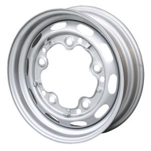 Standard wheel 15 x 4.5Grey, 5 lug (5x205)ET +25 - Exterior - Wheel rims and accessories - Porsche 356 wheel rims  - Generic